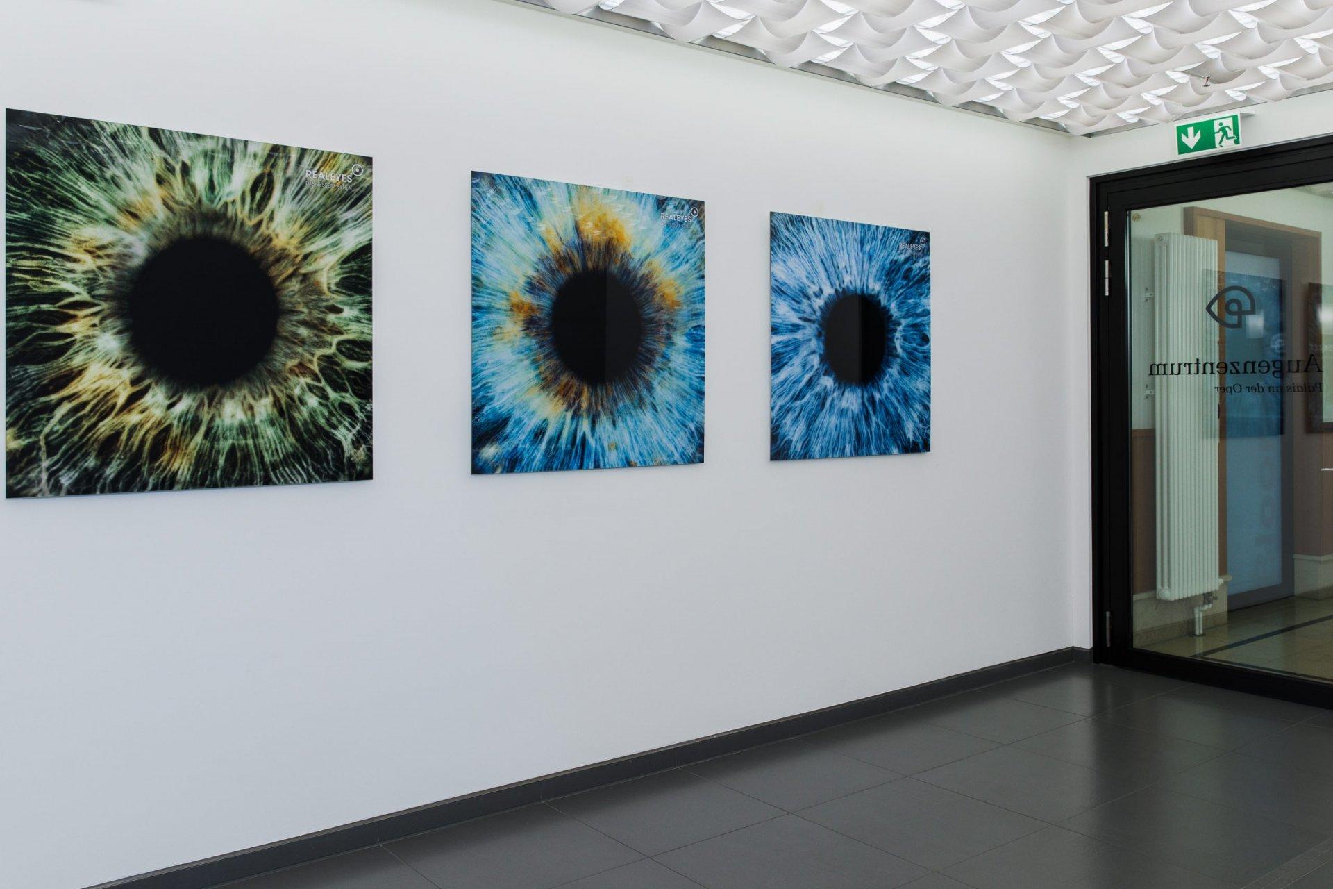 Eingangsbereich Realeyes Augenärzte Palais an der Oper München